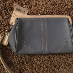 Coach wristlet with tags!